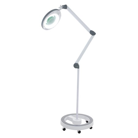 Pro Series MODA LED (5X Diopter) Magnifying Lamp With Large glass 5.5