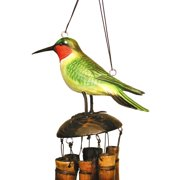 Cohasset Ruby Throated Hummingbird 16 Inch Wind Chime