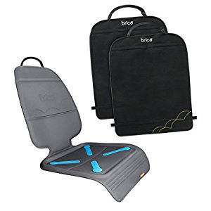 BRICA Seat Guardian Car Seat Protector with Deluxe Kick Mats, 2 ...