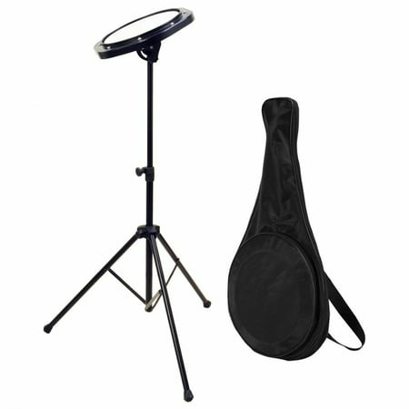 On-Stage DFP5500 Drum Practice Pad with Stand &