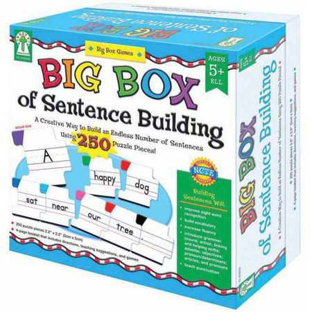 Key Education Big Box of Easy-to-Read Words Game