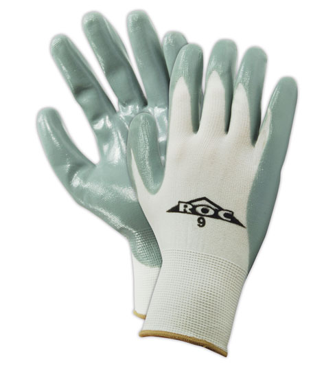 Magid ROC Nitrile Palm Coated Gloves Size 10, 12 Pairs