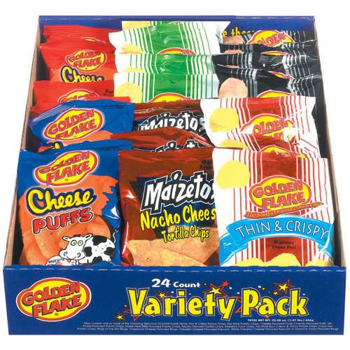 Golden Flake Variety Pack, 24ct