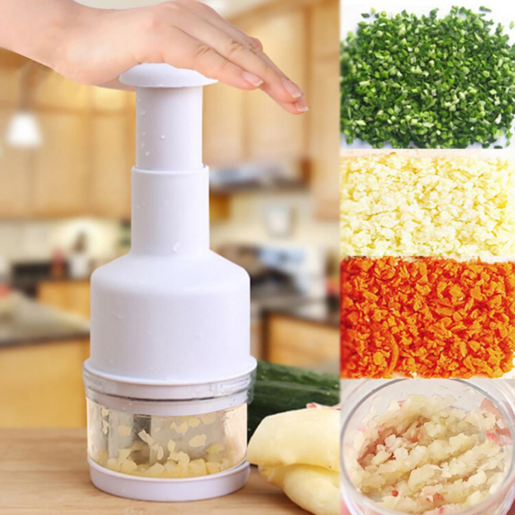 Moderna Multifunctional Onion Garlic Press Crusher Vegetable Cutting Home Kitchen Tool