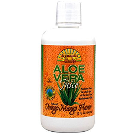 Dynamic Health Orange & Mango Flavor Aloe Vera Juice, 32 oz