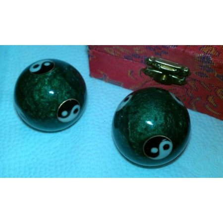 Stress Ball Key - Chinese Health Exercise Stress Balls, Colors of box may very