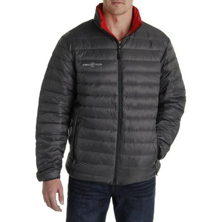 Free Tech Mens Down Packable Puffer Jacket Walmart Com