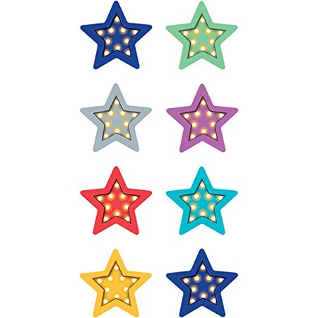- Marquee Stars Mini Stickers, 378 stickers per pack By Teacher Created Resources