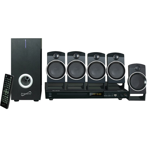Supersonic 5.1-Channel Surround Sound System