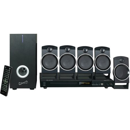 Supersonic 5.1-Channel Surround Sound System by