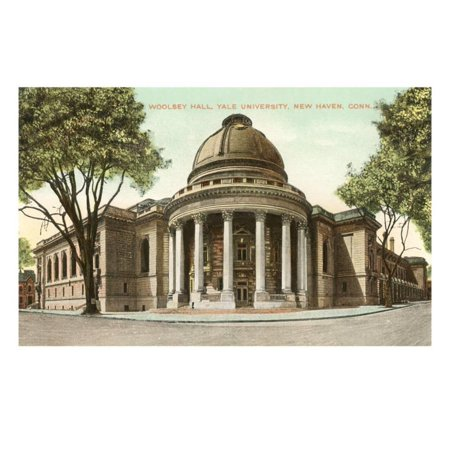 Woolsey Hall, Yale, New Haven, Connecticut Print Wall Art