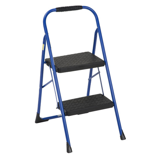 WFX Utility 2-Step Steel Step Stool with 200 lb. Load Capacity