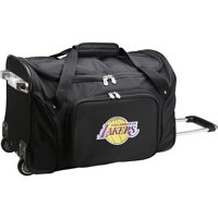 "Los Angeles Lakers 22"" 2-Wheeled Duffel Bag - Black - No Size"