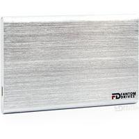 Fantom Drives External SSD 1TB USB 3.1 Gen 2 Type-C 10Gb/s with PCIe Host Adapter - Silver - Mac - GFORCE 3.1 SSD Series