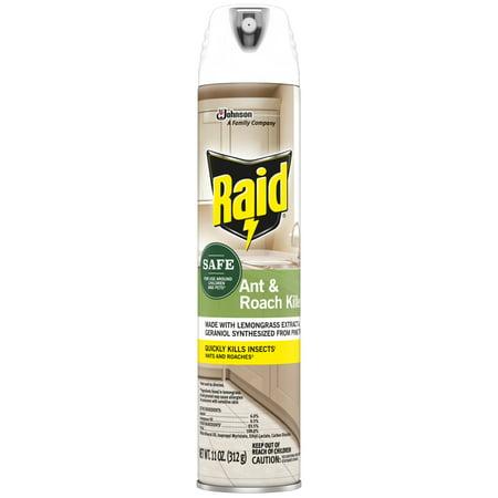 Raid Ant and Roach Killer 27, 11 Ounces
