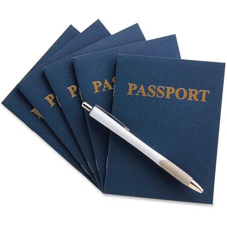 Hygloss, HYX32610, Kids Craft Blank Passport Books, 24 / Pack](Kids Passports)