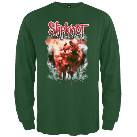 Slipknot - Infection Long Sleeve T-Shirt (Slipknot Jumpsuit For Sale)