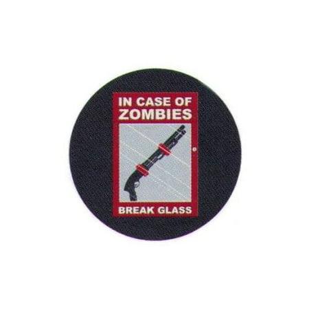In Case of Zombies Break Glass Shotgun
