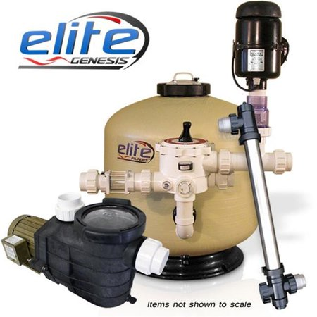 Elite Pumps Gpp26000 Genesis Pond 7550Prm26  44  Gf26   2 X Euv75 Pack  44  26000 Gal