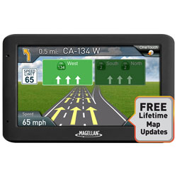 "MAGELLAN RoadMate 5"" GPS with Lifetime Maps RM5520LM"