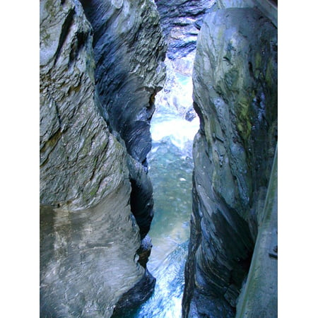 online store 1ec94 8948f LAMINATED POSTER Water Eng Nature Rock Gorge Poster Print 24 x 36