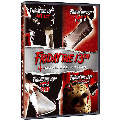 Friday The 13th 4-Pack Collection: Friday The 13th / Friday The 13th Part II / Friday The 13th Part III / Friday The 13th - The Final Chapter (Widescreen)