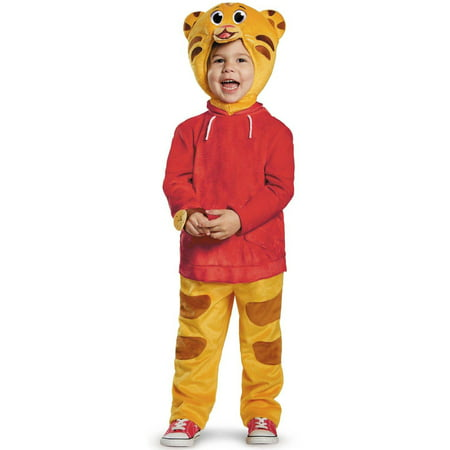 Deluxe Daniel Tiger Child Halloween Costume, Small - Daniel Roebuck Halloween