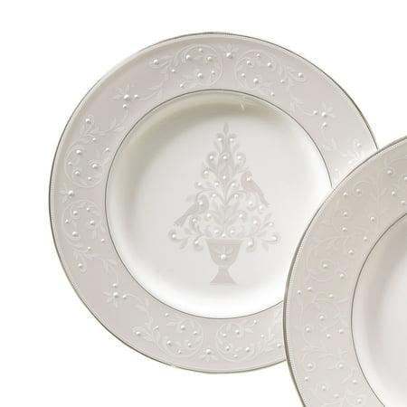 - Lenox Opal Innocence Tree Accent PlateWhiteAccent Plate Tree Lenox Opal Innocence Platinum Fine Dinnerware Accent Plate, Tree