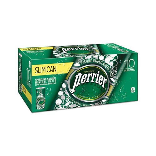 Perrier Sparkling Natural Mineral Water, Original, 8.4 Fl Oz, 30 Count by Nestle Waters North America