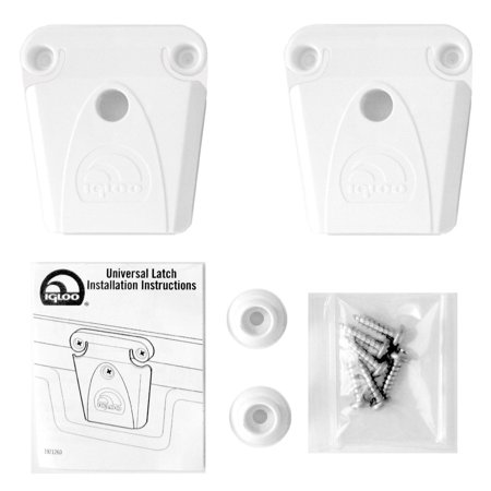 Igloo Cooler Replacement Plastic Latch Set Assembly, 2-Pack (Sunroof Latch)