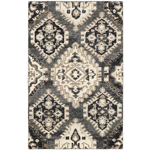 LR Resources Rajani Gray Rug