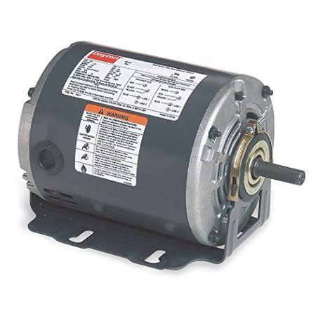 Motor 1/4 Hp 60hz Belt (Dayton 5K260 Motor, 1/4 hp, 60Hz, Belt, Degrees_Fahrenheit, to Volts, Amps, ()