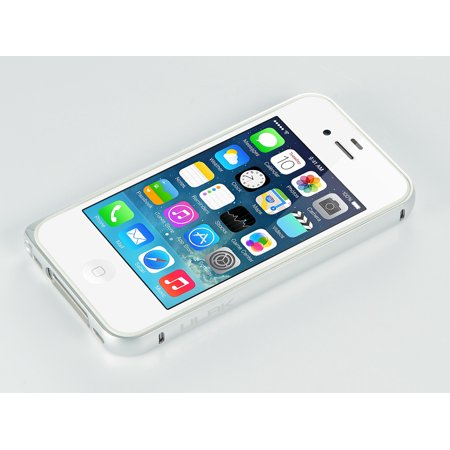 ULAK Slim Lightweight Aluminum Metal Protective Frame Bumper Case for iPhone 4 4S without Back Panel ()