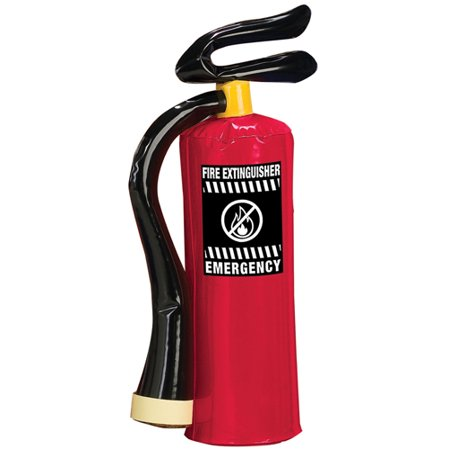 Inflatable Fire Extinguisher Costume Prop - Inflatable Halloween Props