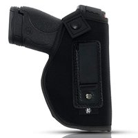 Neoprene Holster By PH - Soft Material | Soft Interior | Fits MP Shield 9mm.40.45 Auto/ GLOCK 26 27 29 30 33 42 43/ Ruger LC9, LC380 | Taurus Slim Line, PT111 | Springfield XD