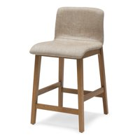MoDRN Naturals Ellery Counter Stool, Multiple Colors
