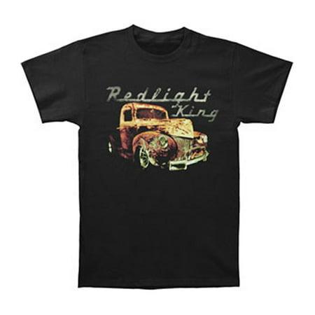 Redlight King Mens  Truck Logo T Shirt Black
