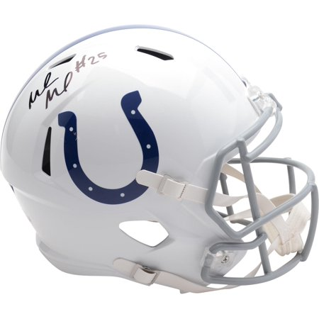 Marlon Jack Indianapolis Colts Autographed Riddell Speed Replica Helmet - Fanatics Authentic Certified