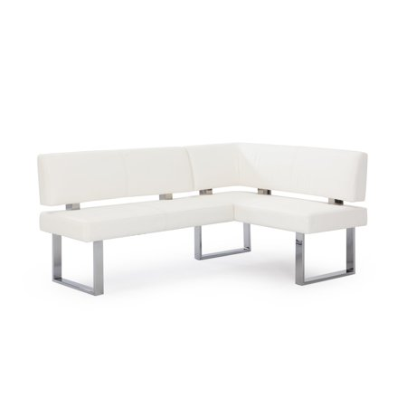 Chintaly Linden L-Shaped Dining Bench