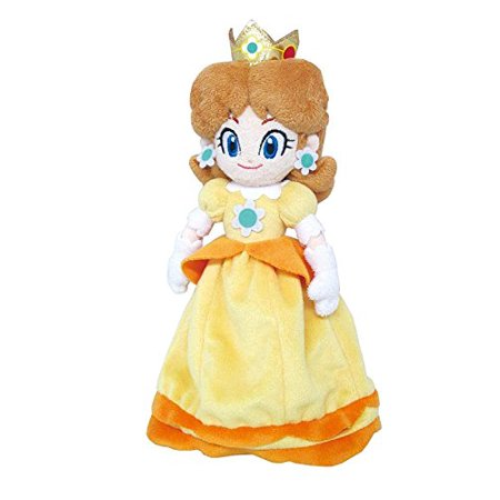 "Little Buddy LLC, Super Mario All Star Collection: Daisy 10"" Plush"