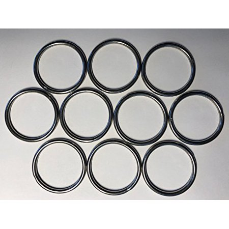 10 Pieces Stainless Steel 316 Round Ring Welded 5/32