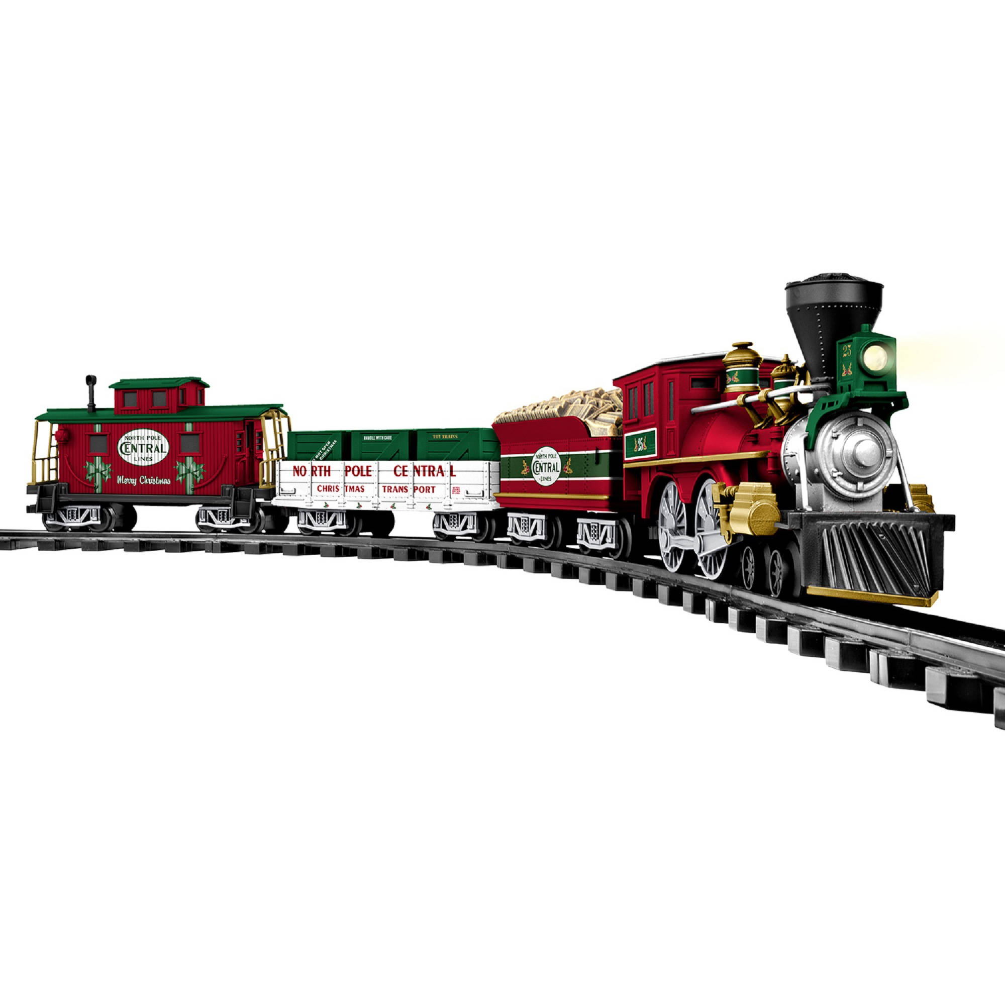 Christmas Train Set.Lionel North Pole Central Battery Powered Model Train Set Ready To Play With Remote