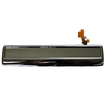 PT Auto Warehouse GM-3080M-FL - Outer Exterior Outside Door Handle, Chrome - Driver Side Front