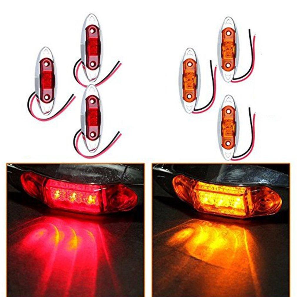 3LED Car Lights Piranha Waterproof Side Marker Lights Clearance Signal Lamp