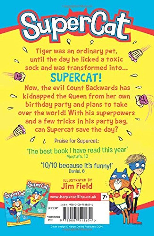 Supercat, Book 2 Supercat Vs the Party Pooper