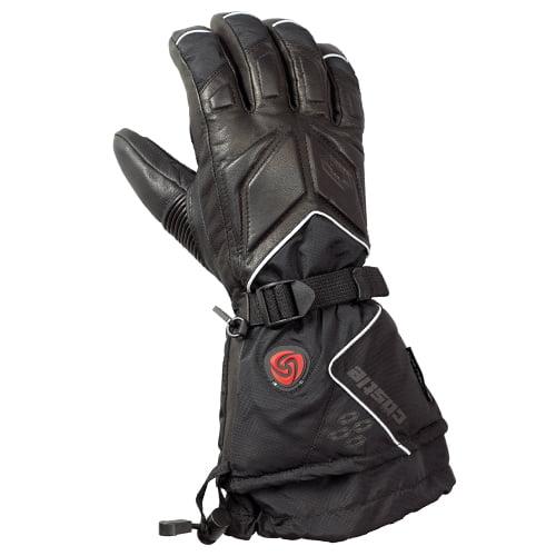 Castle X Racewear G1 Womens Heated TRS Snowmobile Gloves Black