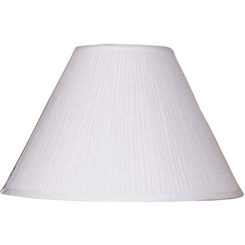 Soft Pleat Lamp Shade White Walmart Com