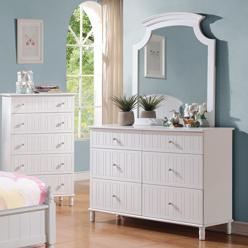 Wildon Home  6 Drawer Dresser with Mirror