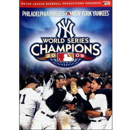 MLB: 2009 World Series - New York Yankees 2009 Yankees World Series