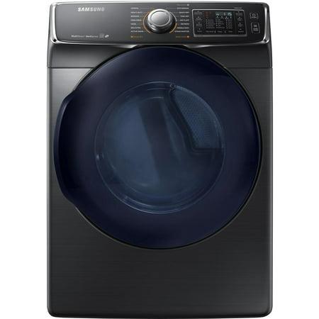 Samsung DV45K6500EV - Dryer - freestanding - width: 27 in - depth: 32.4 in - height: 38.7 in - front loading - black stainless steel